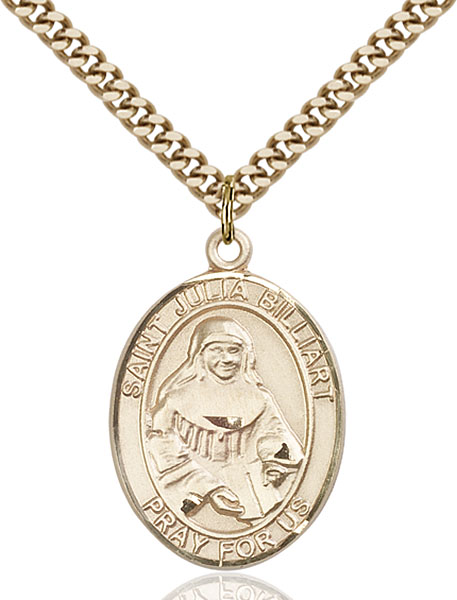 Gold-Filled St. Julia Billiart Pendant