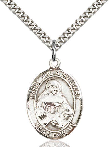 Sterling Silver St. Julia Billiart Pendant