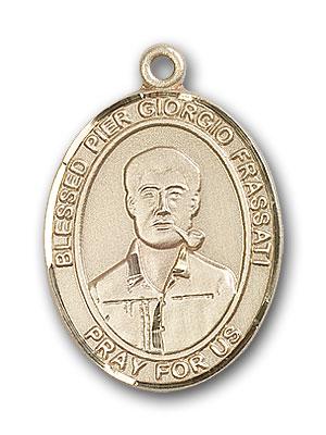 14K Gold Blessed Pier Giorgio Frassati Pendant