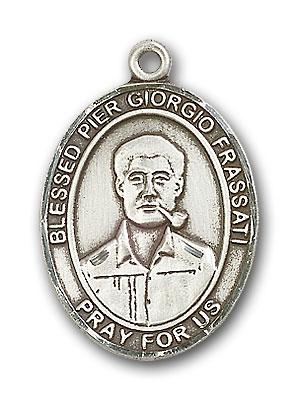 Sterling Silver Blessed Pier Giorgio Frassati Pend