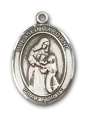 Sterling Silver Blessed Caroline Gerhardinger Pend