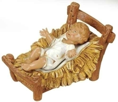 12-inch Infant Fig & Cradle