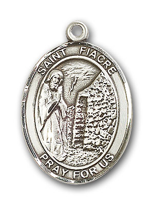 Sterling Silver St. Fiacre Pendant