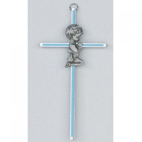 "6"" Boy Cross Blue"