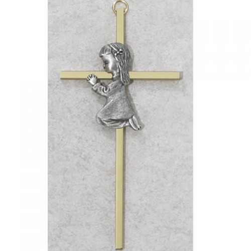 "6"" Two Tone Girl Cross"