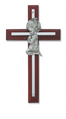 "6"" Cherry Girl Cross Silver"