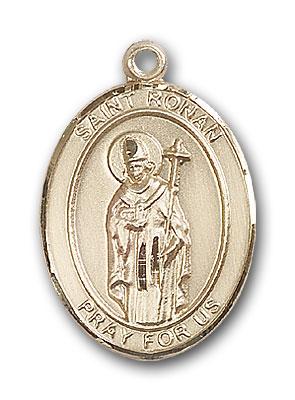 Gold-Filled St. Ronan Pendant
