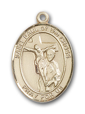 14K Gold St. Paul of the Cross Pendant