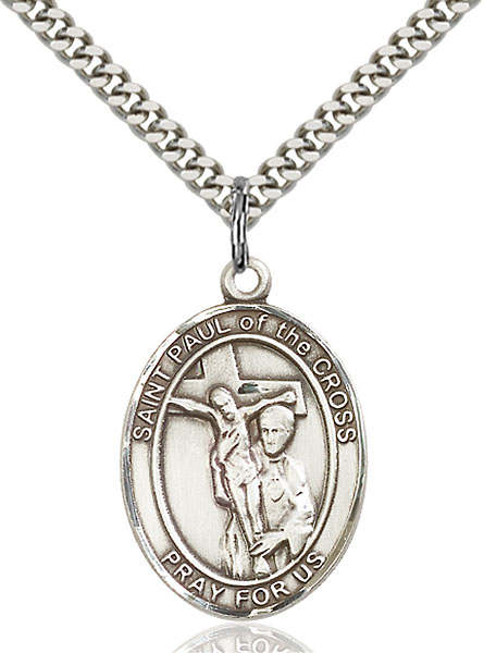 Sterling Silver St. Paul of the Cross Pendant