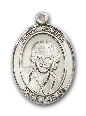 Sterling Silver St. Gianna Pendant