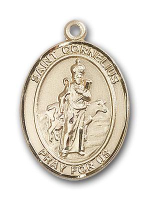 Gold-Filled St. Cornelius Pendant