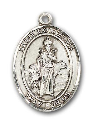 Sterling Silver St. Cornelius Pendant