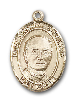 Gold-Filled St. Hannibal Pendant