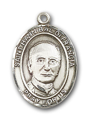 Sterling Silver St. Hannibal Pendant