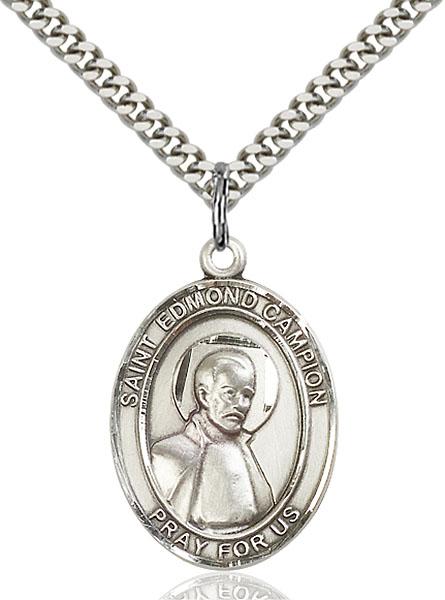 Sterling Silver St. Edmund Campion Pendant