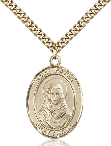 Gold-Filled St. Rafta Pendant