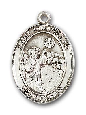 Sterling Silver St. Nimatullah Pendant