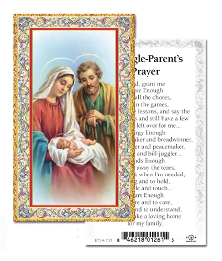 100-Pack - A Single Parent Holy Card