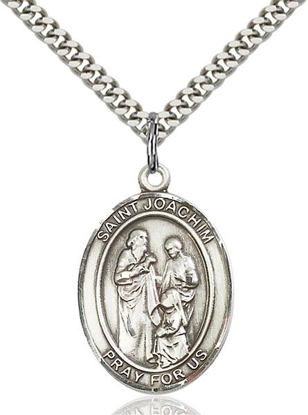 Sterling Silver St. Joachim Pendant