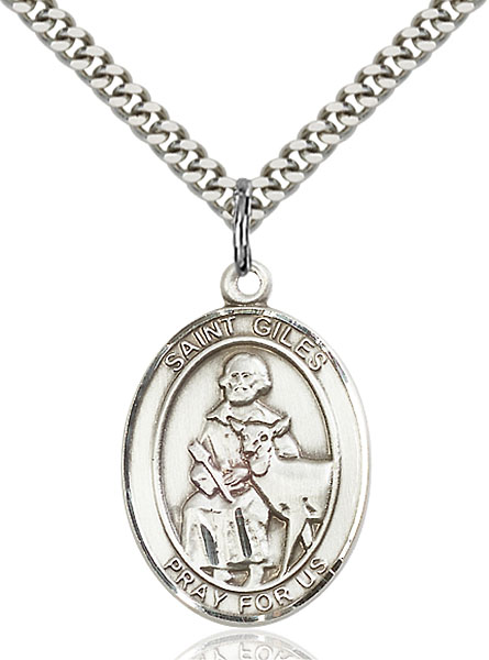 Sterling Silver St. Giles Pendant