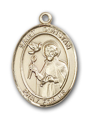 Gold-Filled St. Dunstan Pendant