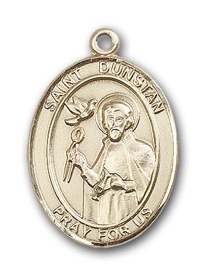 Gold-Filled St. Dunstan Pendant