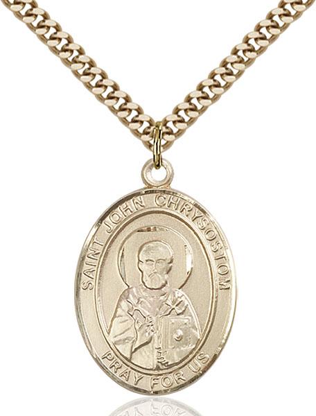 Gold-Filled St. John Chrysostom Pendant