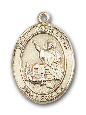 Gold-Filled St. John Licci Pendant