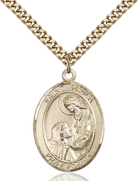Gold-Filled St. Paula Pendant