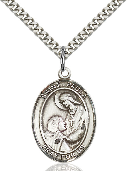 Sterling Silver St. Paula Pendant