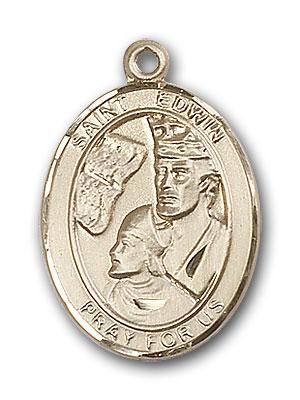 Gold-Filled St. Edwin Pendant