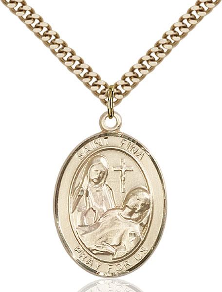 Gold-Filled St. Fina Pendant