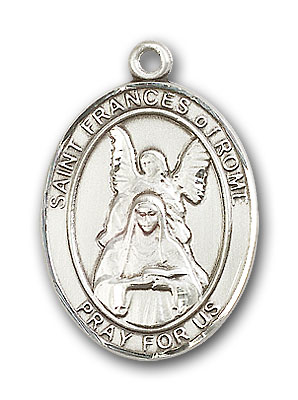 Sterling Silver St. Frances of Rome Pendant