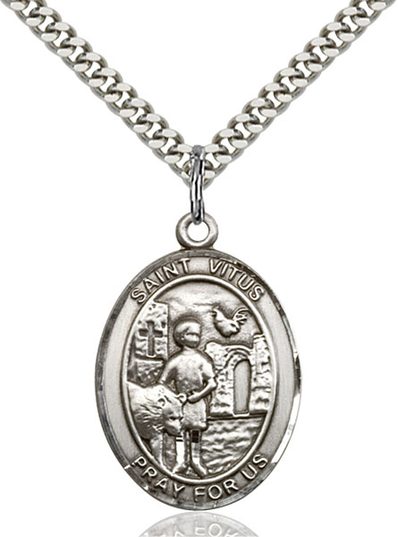 Sterling Silver St. Vitus Pendant