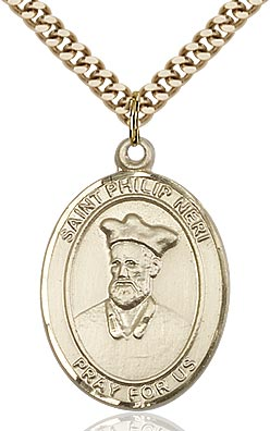 Gold Filled St. Philip Neri
