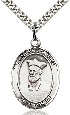 Sterling Silver St. Philip or Neri