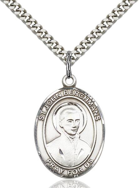 Sterling Silver St. John Berchmans Pendant