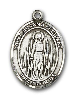 Sterling Silver St. Juliana Pendant