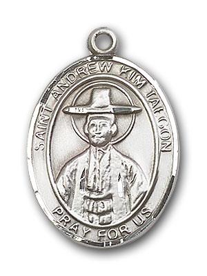 Sterling Silver St. Andrew Kim Taegon Pendant