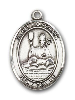 Sterling Silver St. Honorius Pendant