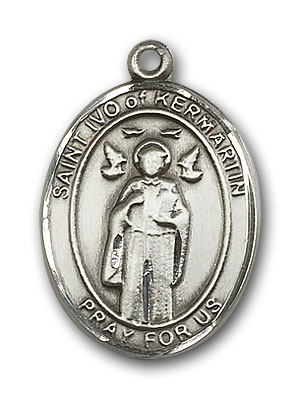 Sterling Silver St. Ivo Pendant