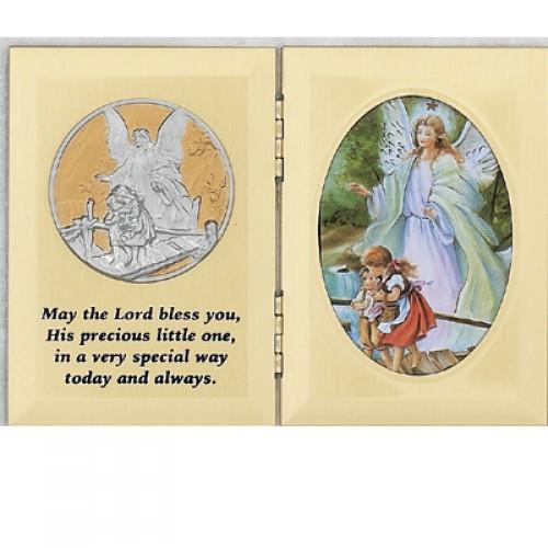 "5 X 7"" Folding Baptism Plaque"