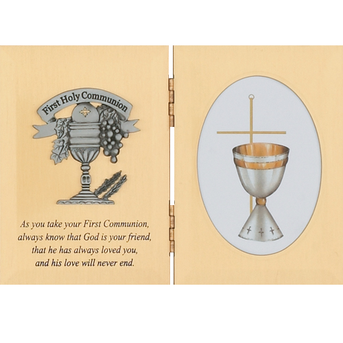Sterling Silver Communion Plaque