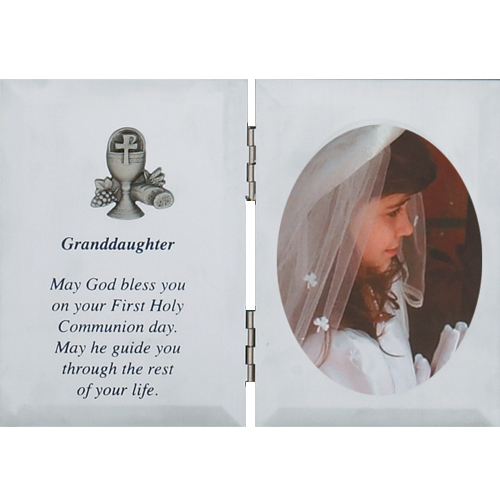 Silver Granddaughter Plaque