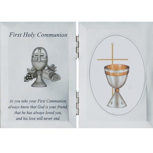 Silver Communion Plaque