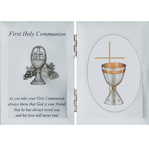 Silver Communion Plaque