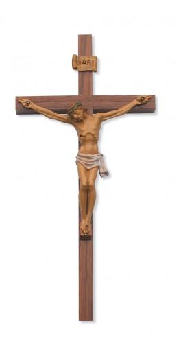 "12"" Walnut-Italia Corpus Crucifix"