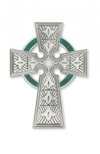 """4 3/4"""" Pewter Celtic Cross"""