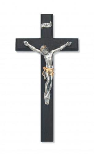 "10"" Black Crucifix Tutone Corpus"