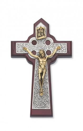 "5 3/4"" Cherry Celtic Crucifix"